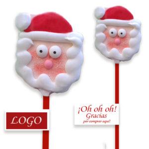 Piruletas Papa Noel Navidad
