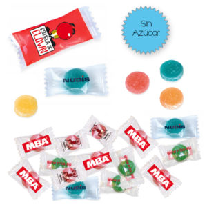 Caramelos Personalizados Pectina Sobre Sin Azúcar