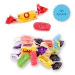 Caramelos Pectina 2 lazos Sin Azúcar Personalizados