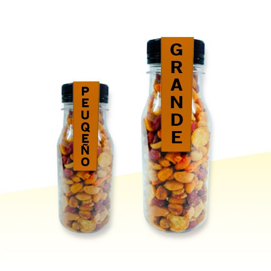 Botellas Personalizadas Etiqueta Rellenas de Chuches