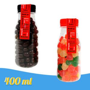 Botellas Personalizadas Etiqueta Rellenas de Chuches 400ml