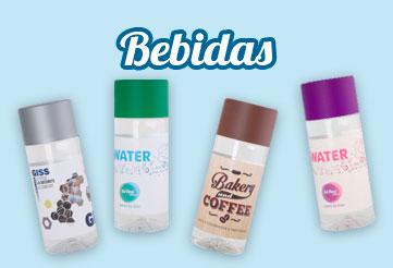Sección Botellas Bebidas Personalizadas