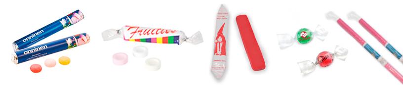 Banner Caramelos de especialidad personalizados